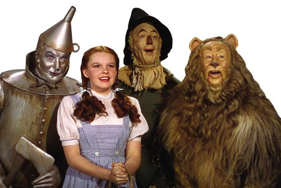 "The 1939 classic ""Wizard of Oz."""